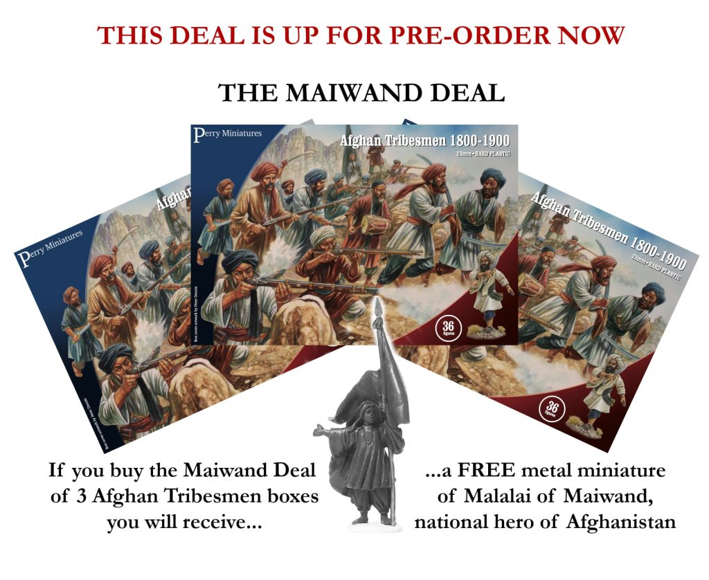 Afghan Tribesmen Deal - Perry Miniatures