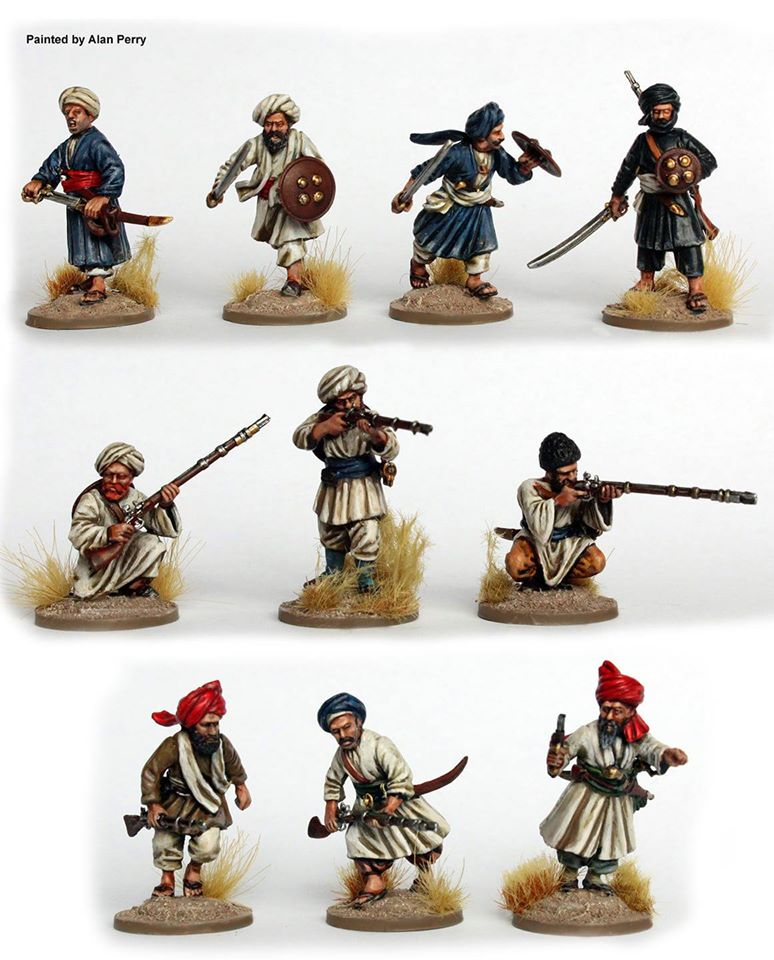 Afghan Tribesmen Painted - Perry Miniatures