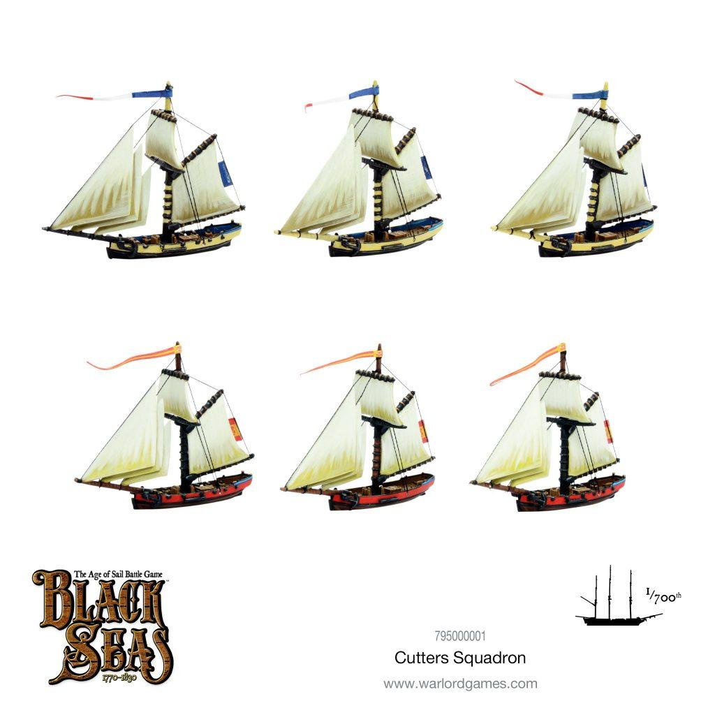 Cutters Squadron - Black Seas