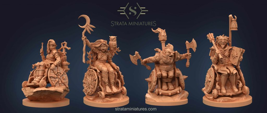 Everybody Can Be A Hero - Strata Miniatures