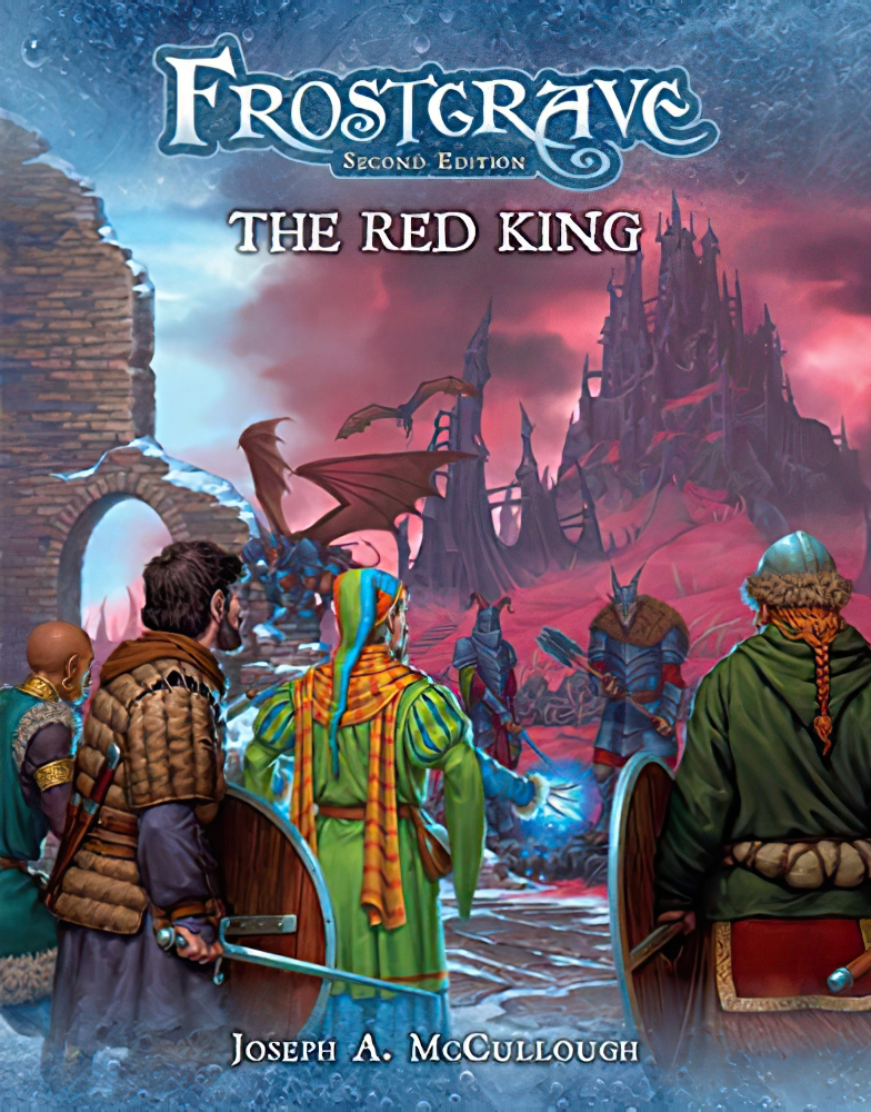 Frostgrave The Red King - Osprey Games