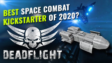 Is Deadflight The Best Space Combat Kickstarter Of 2020? We Interview The Creator!