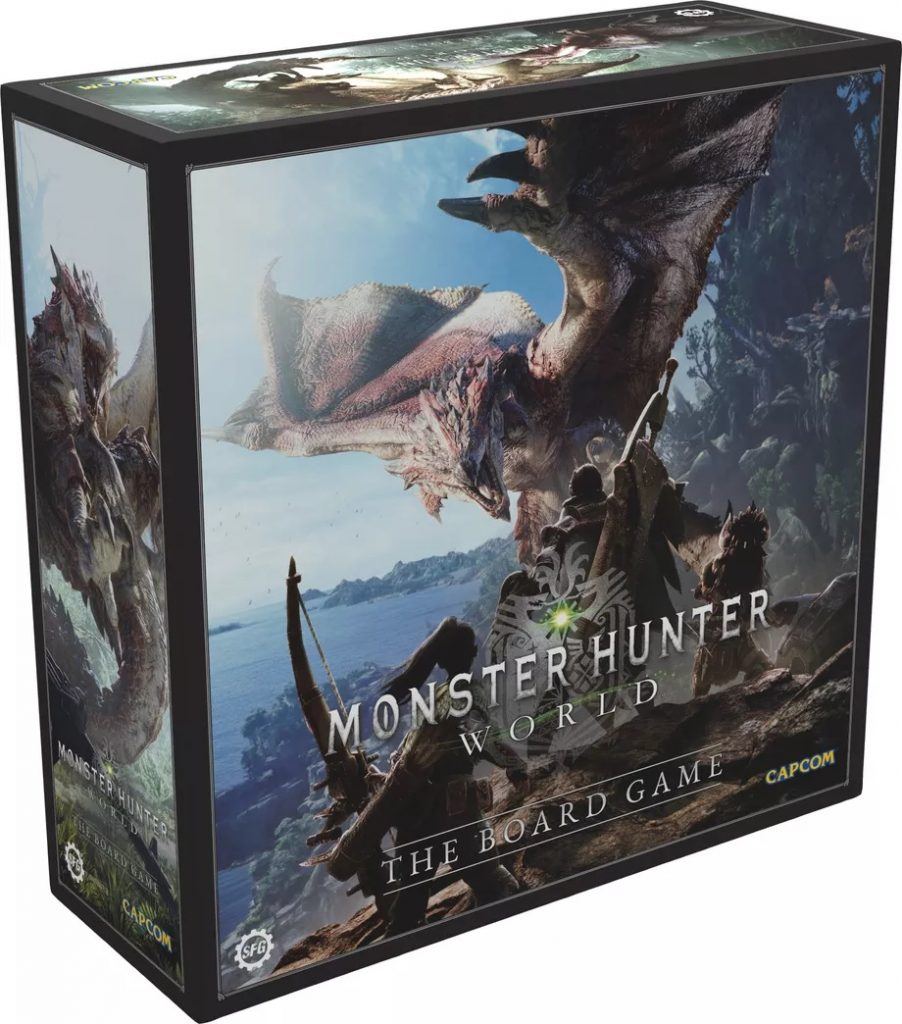 Monster Hunter World The Board Game - Steamforged Games