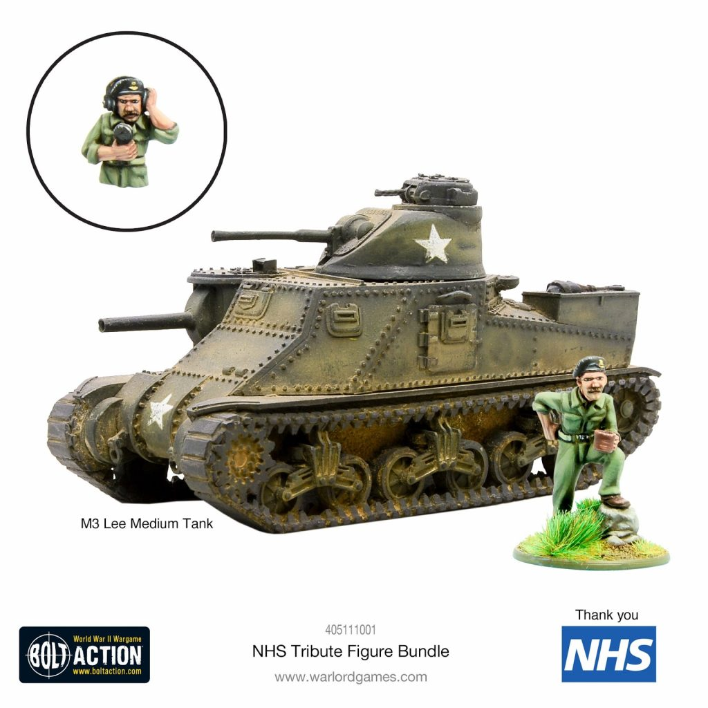 NHS Tribute Figure Bundle - Warlord Games