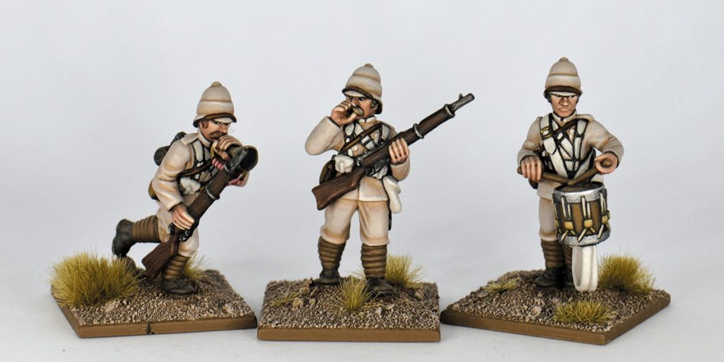 Northwest Frontier Infantry Command - Studio Miniatures