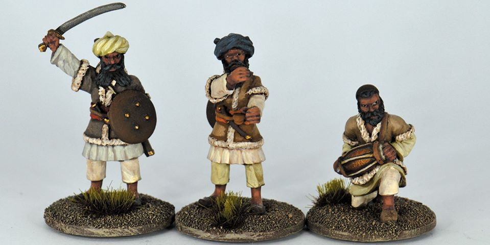 Northwest Frontier Tribal Command - Studio Miniatures