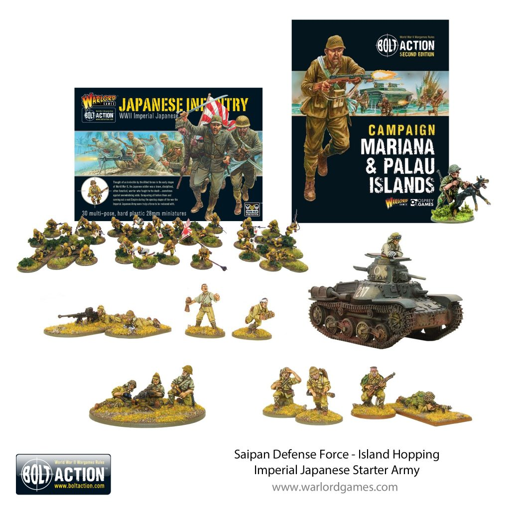 Saipan Defence Force Imperial Japanese Starter Army - Bolt Action