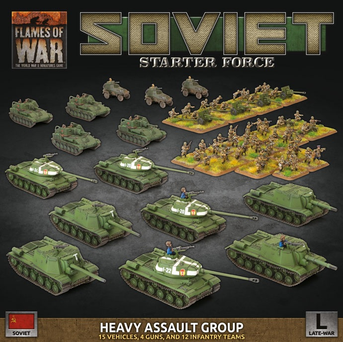 Soviet Starter Force - Flames Of War