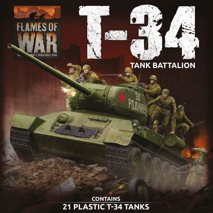 T-34 Tank Battalion - Flames Of War