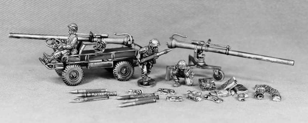 USMC Mule With 106mm Recoiles Rifle - Empress Miniatures
