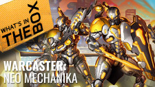 Unboxing – Warcaster: Neo-Mechanika Starter Set Miniatures First Look | Privateer Press