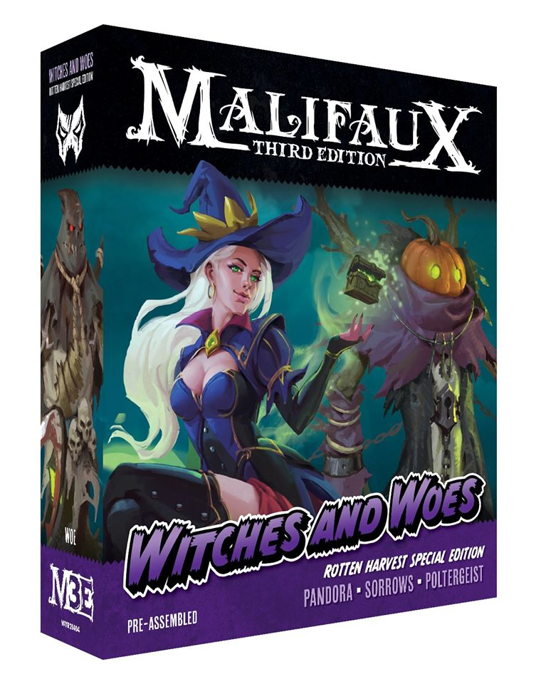 Witches & Woes - Malifaux