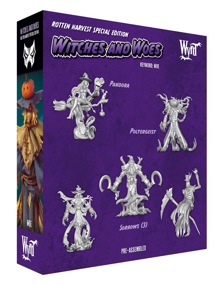 Witches & Woes Rear - Malifaux