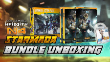 [Infinity N4 Themed Week] N4 Rulebook & Starmada Action Pack Unboxing