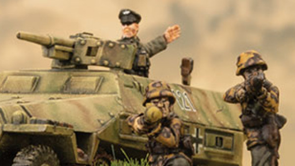 Mount Up Your Waffen-SS With New Flames Of War Releases