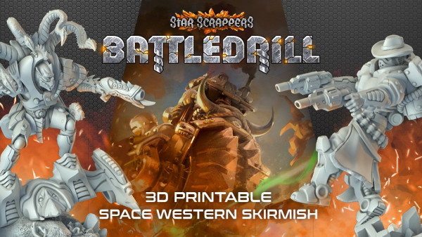 Check Out Sci-Fi Western Star Scrappers: Battledrill