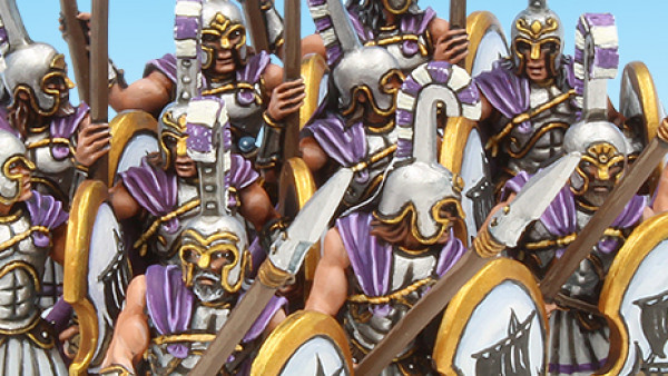 The Athenian Army Prepares For Battle In Crocodile Games' WarGods