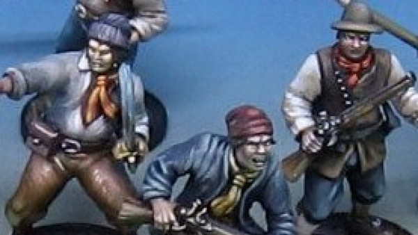 Plastic Pirates & Multi-pose Marines From Firelock Games Raise The Black Kickstarter.