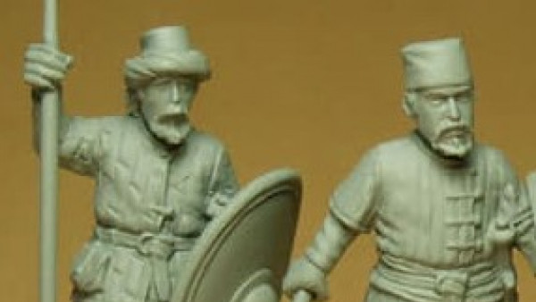 Commanders Arrive For Byzantium From Drabant Line Miniatures