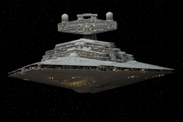 Star Destroyer 'DOMINATOR' is operational.