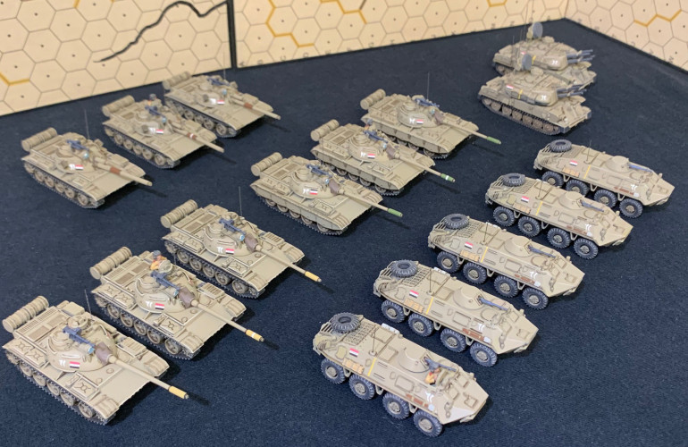 The whole Iraqi force.  Next up ... Infantry!