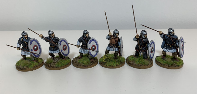 Completed Milites Group Two