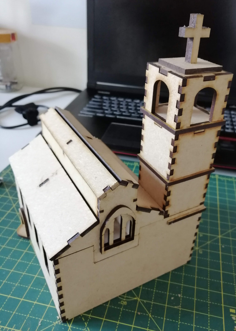 Completed Church
