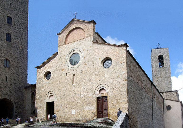 Church in San Gimignano