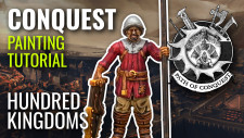 #PathOfConquest The Hundred Kingdoms Miniature Painting Tutorial