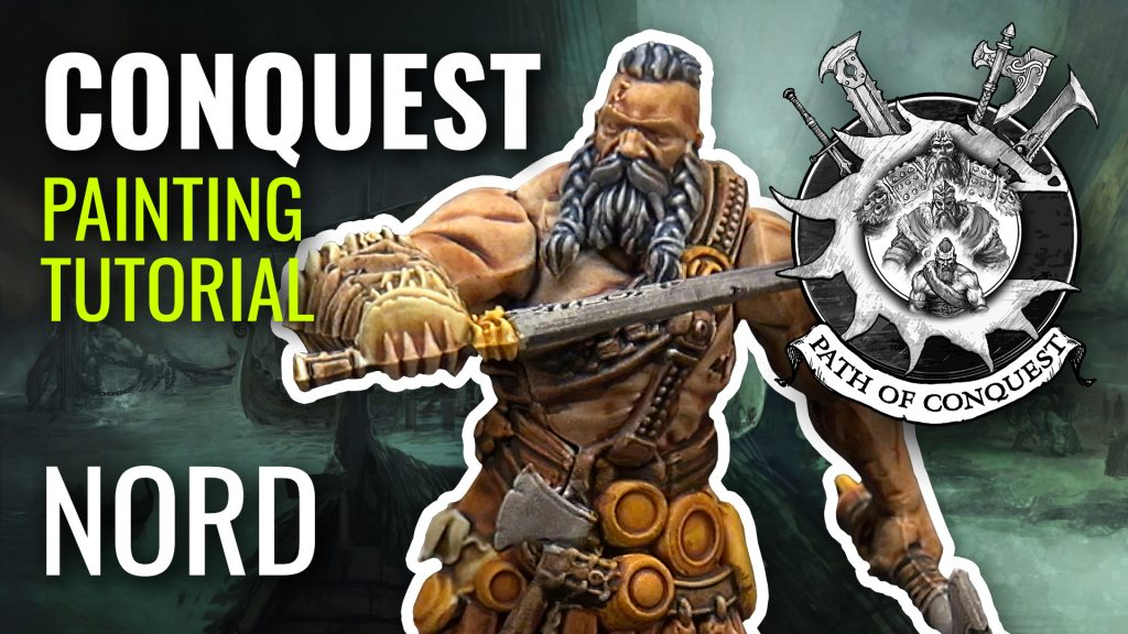 #PathOfConquest Nord Miniature Painting Tutorial
