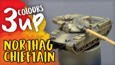 Chieftain Tank Miniature Painting Tutorial | Northag