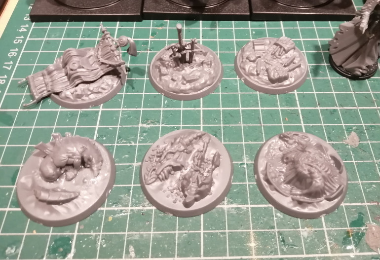 I started with the 3D objective markers.