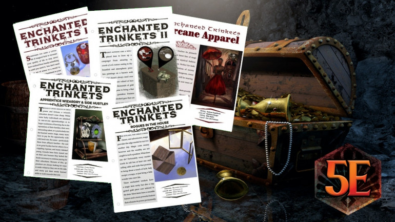 65 Enchanted Trinkets for D&D 5th Edition