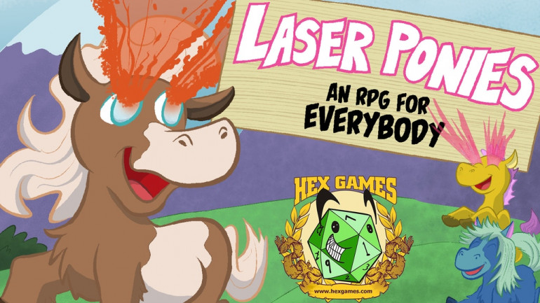 Laser Ponies: An RPG for Everybody
