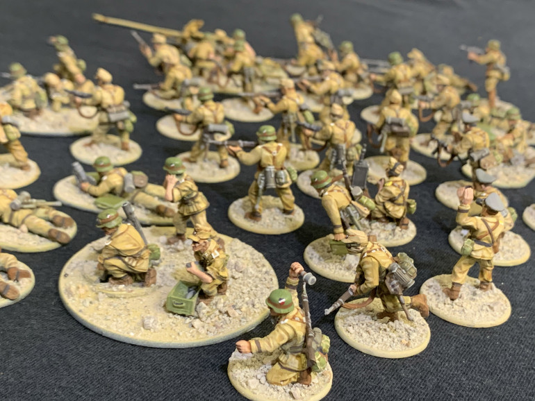 Side view of the army at large.