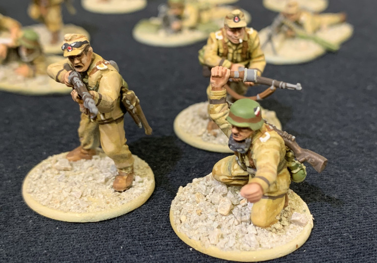 Some of my infantry.
