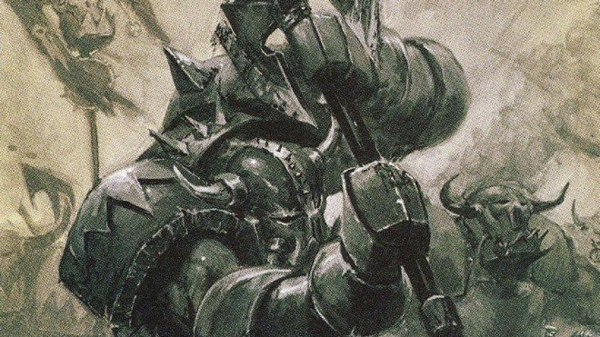 A journey into the old world WAAAAGH