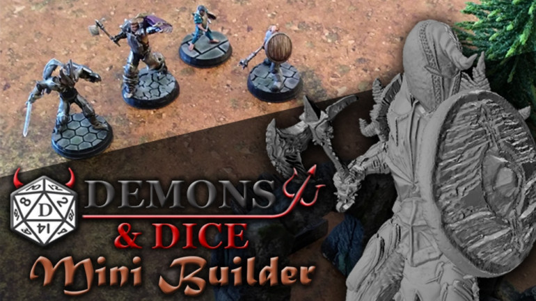 Demons And Dice: Mini Builder