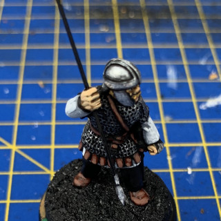 Milites Group Two - leather and cloaks