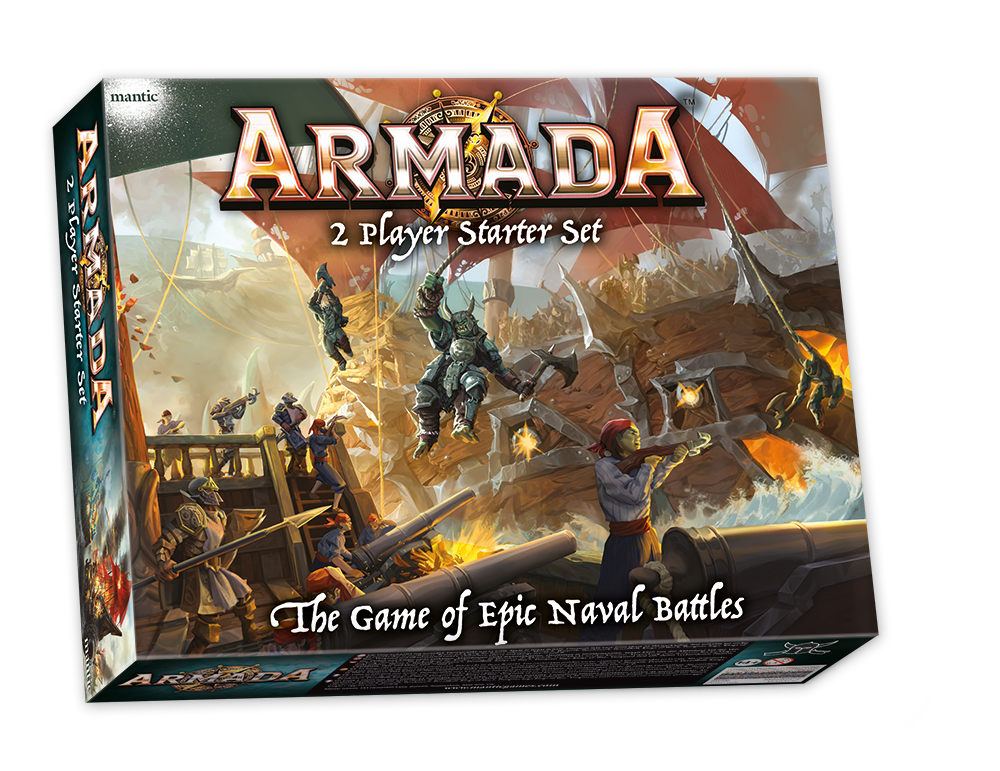 Armada 2 player set mockup