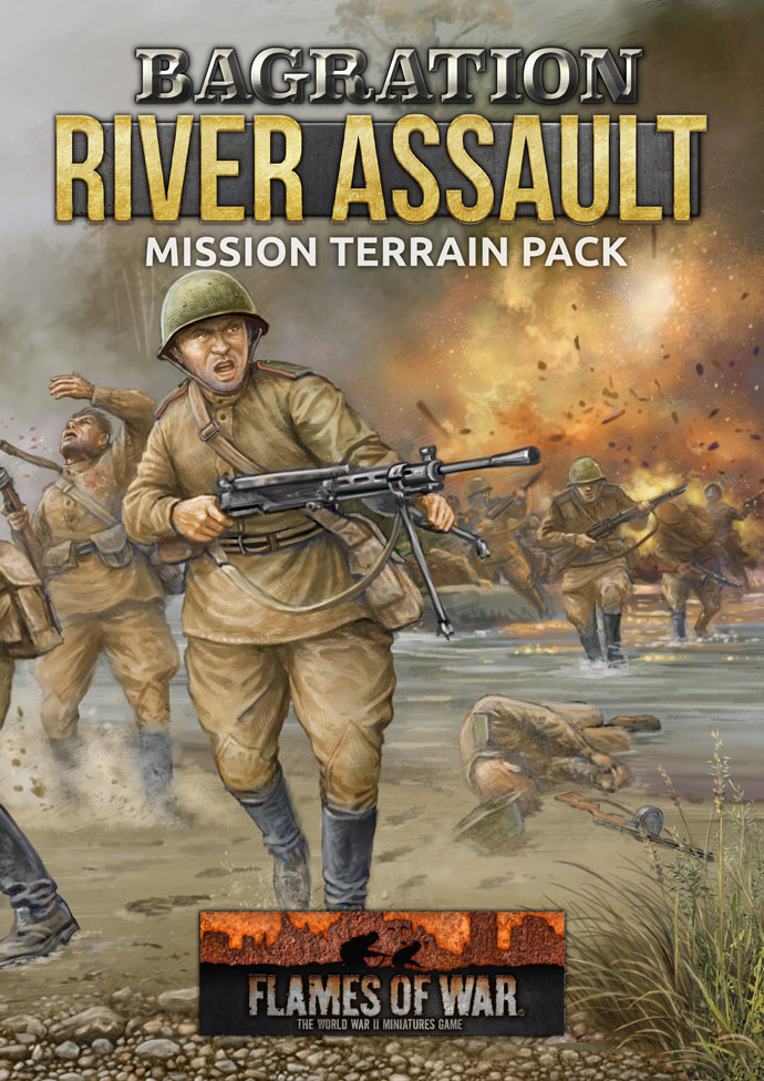 Bagration River Assault Mission Terrain Pack - Flames Of War