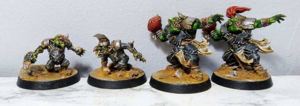 Blood Bowl Orcs #1 by jammyjim