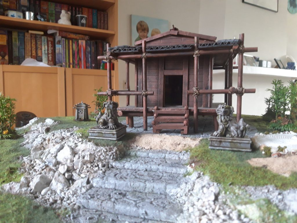 Bushido Game Board #1 by darkvoivod
