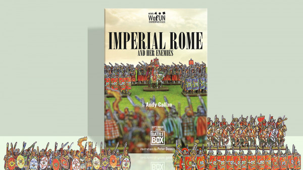Wofun Games Bring Peter Dennis' Imperial Roman Forces & Their Enemies To Tabletop