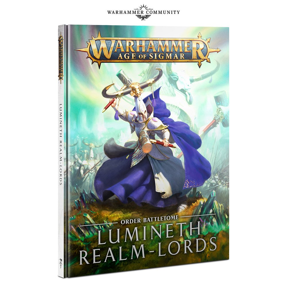 Lumineth Realm-lords Battletome - Age Of Sigmar