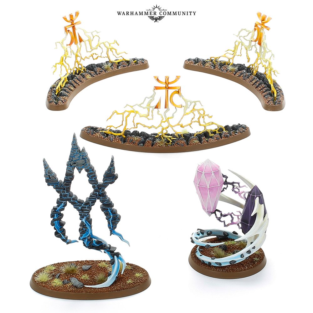Lumineth Realm-lords Endless Spells - Age Of Sigmar