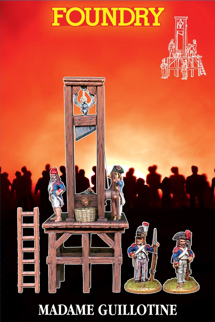 Madame Guillotine Wargames Foundry