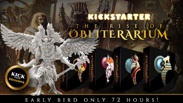 The Rise Of Obliterarium, Kickstarter Sneak Peaks For Fantasy Miniatures