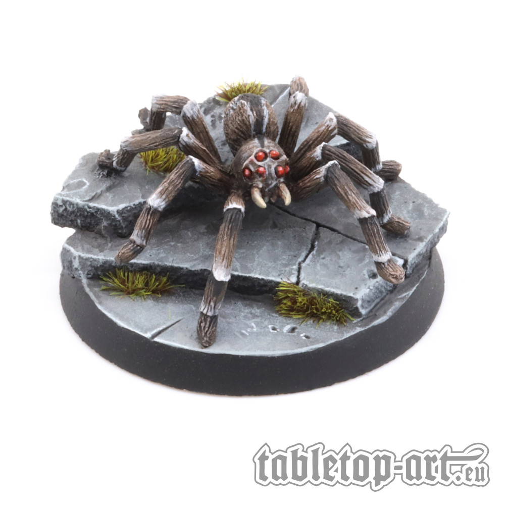 Painted-Giant-Spider-Tabletop-Art