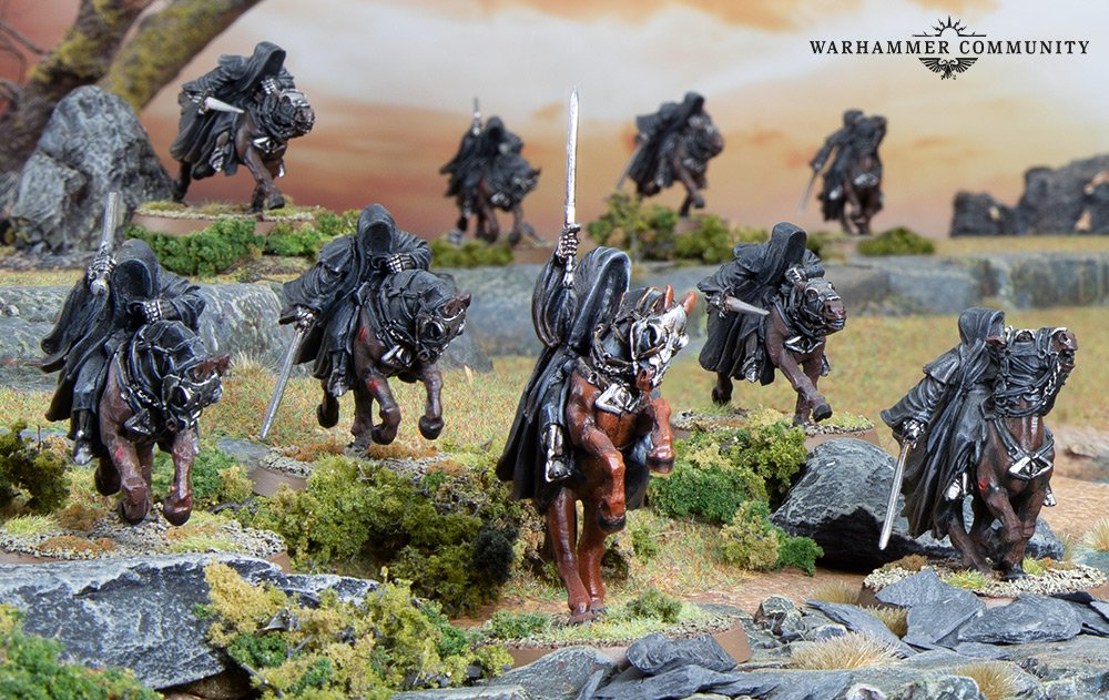 Quest of the Ring Bearer Black Riders